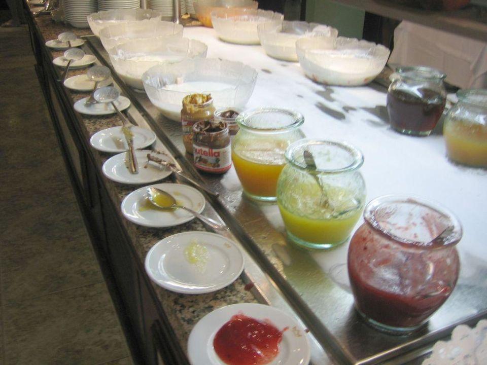 Nutella beim Buffet Playa Bachata Resort
