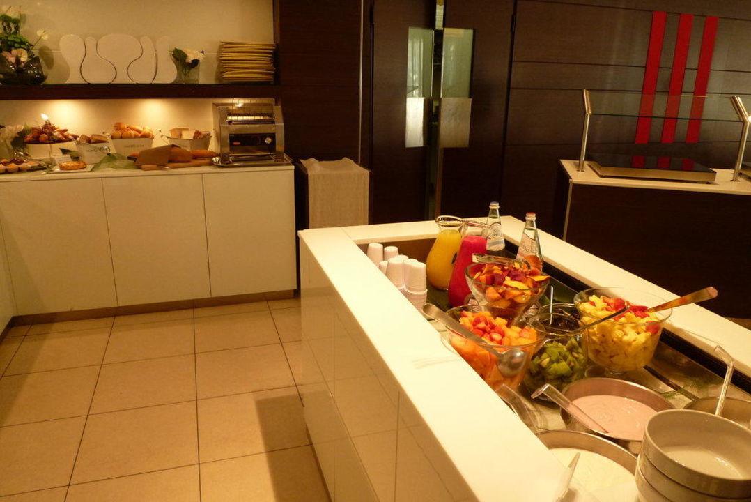 Frühstücksbüffet Hotel Belvedere
