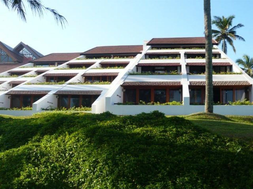 Część klubowa na skarpie Hotel The Leela Kovalam Beach