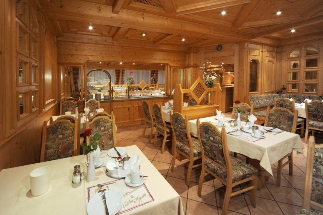 Frühstücksraum Hotel Wolfringmühle