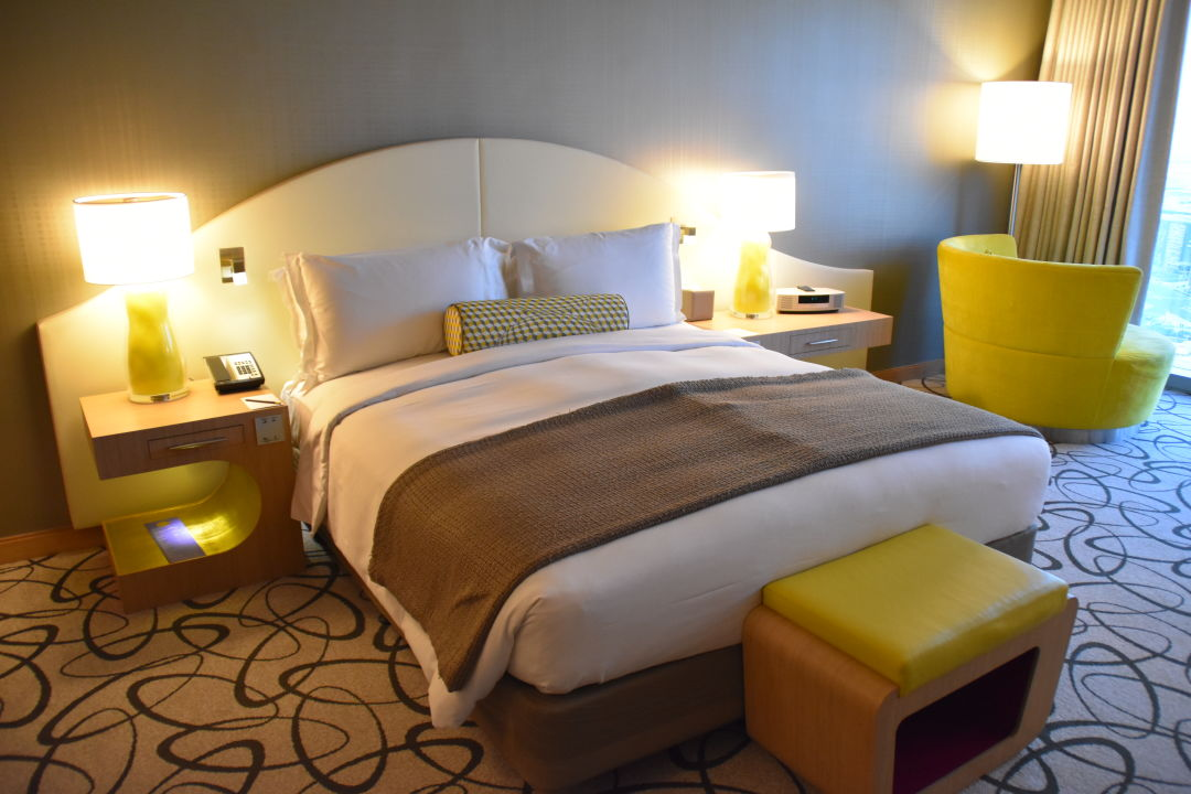 Zimmer Sofitel Hotel Dubai Downtown
