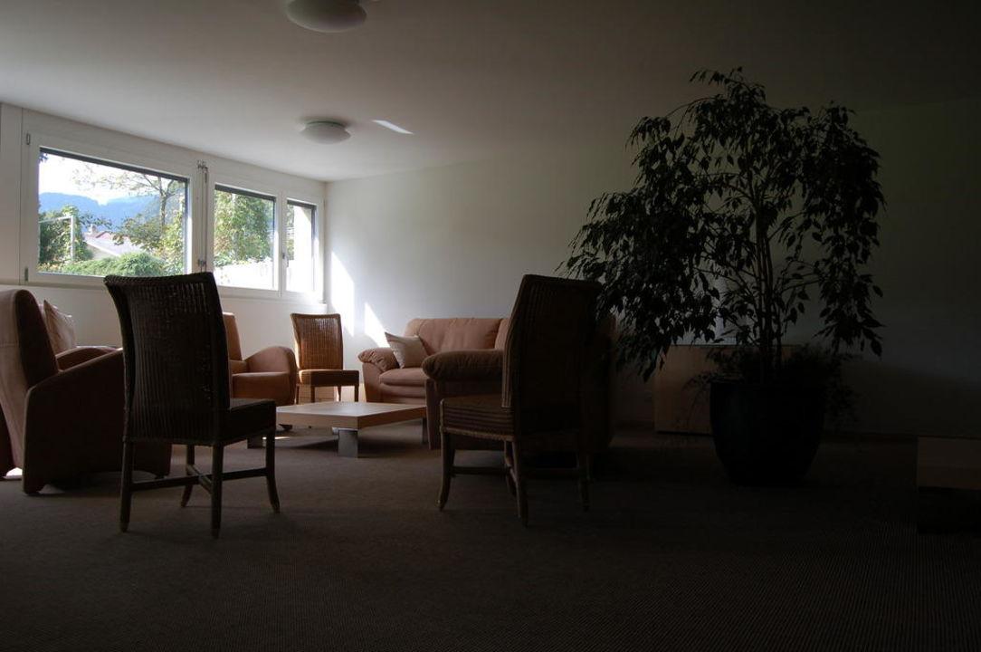 TV-Raum Untergeschoss Hotel Artos