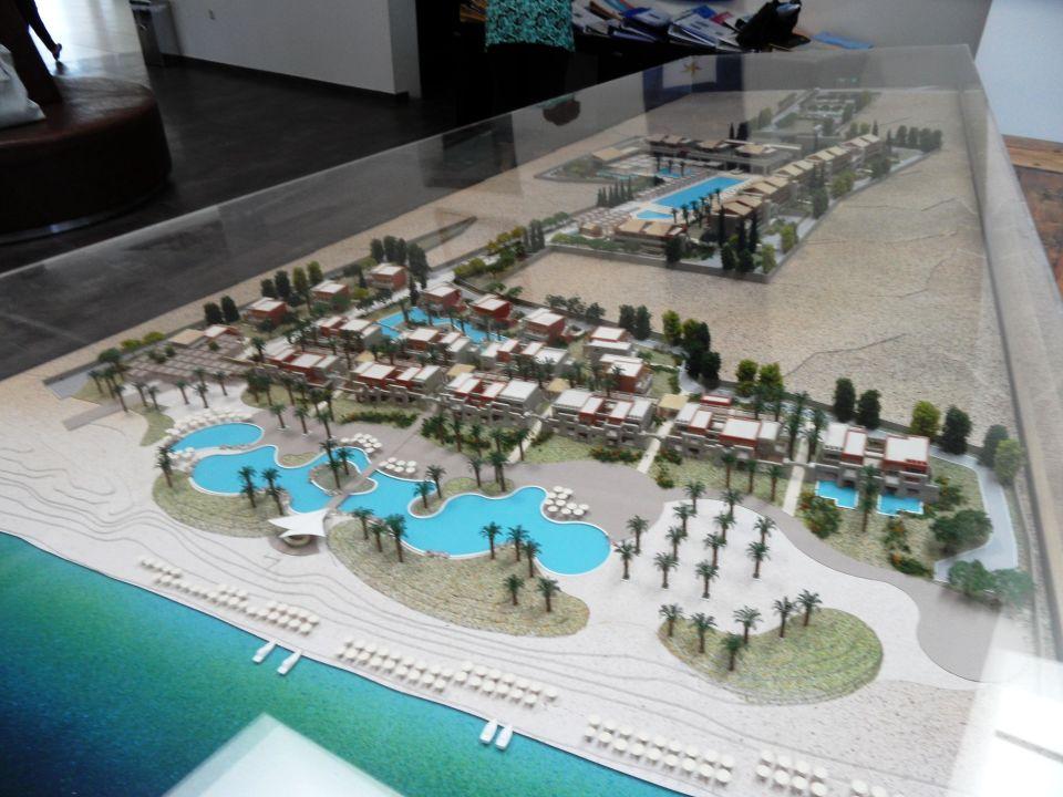 Quot Modell Der Hotelanlage Quot Astir Odysseus Kos Resort Amp Spa