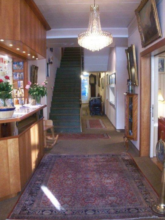 """""""Eingang Rezeption"""" Haus Waterkant Norderney"""