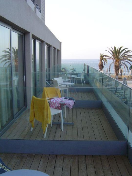 Blick von unserem Balkon I Resort Beach Hotel & Spa