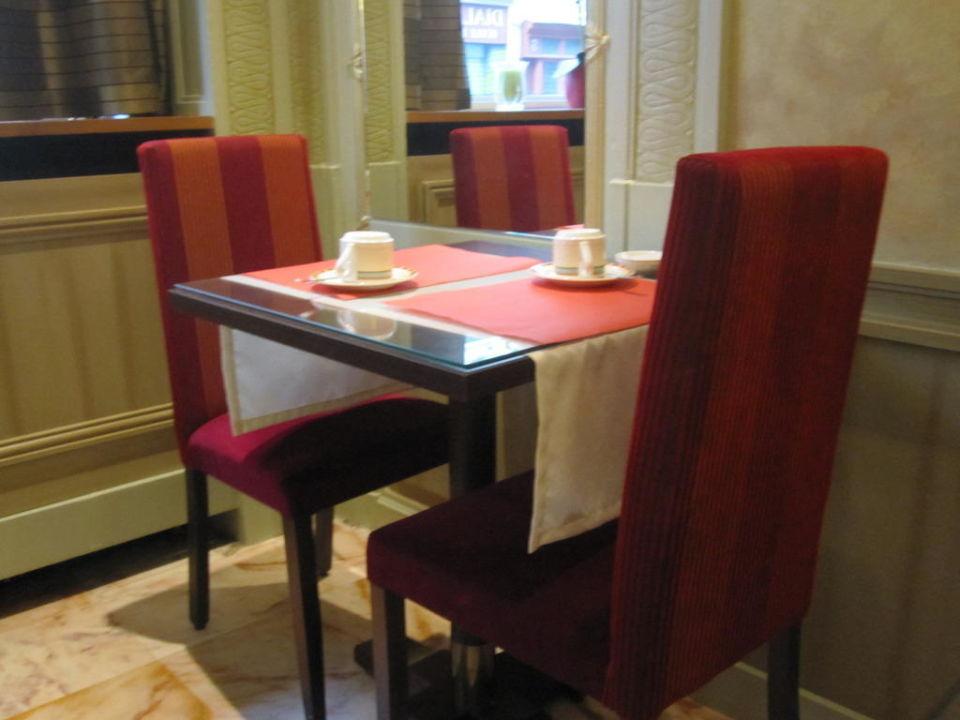 Frühstücksraum Hotel Relais du Pre