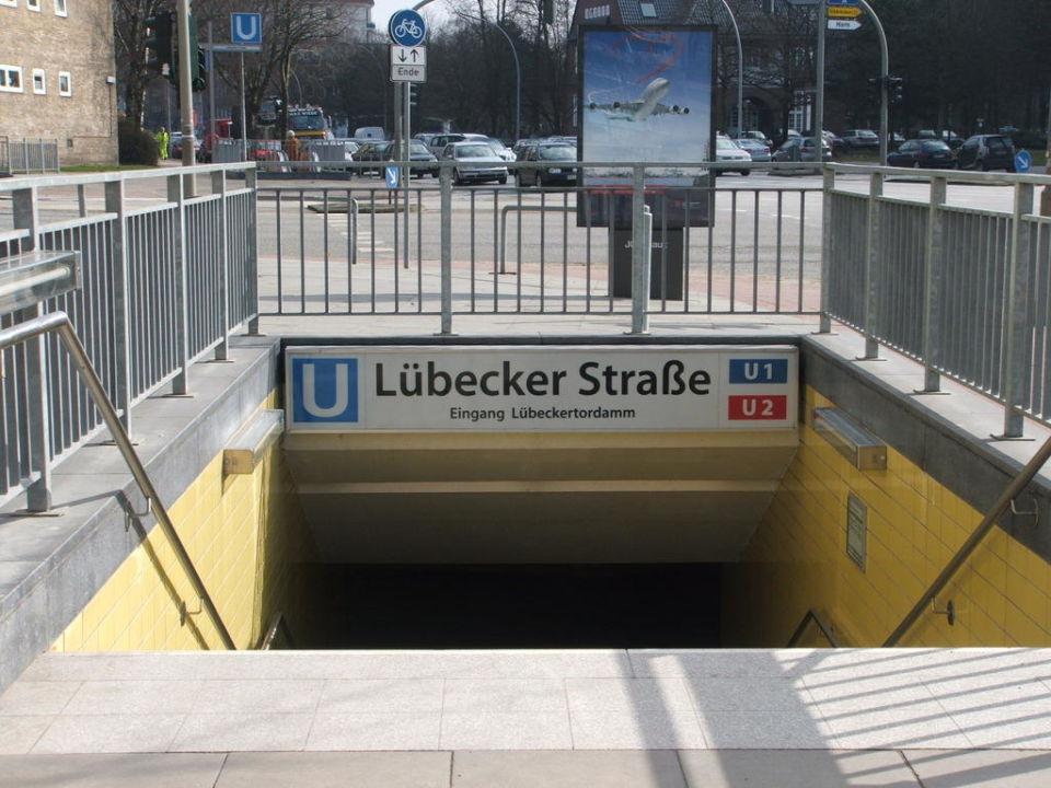 Eingang U Bahn Novotel Hamburg City Alster Hamburg