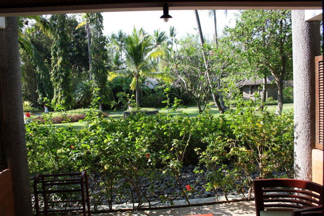 Blick vom Balkon Melia Bali
