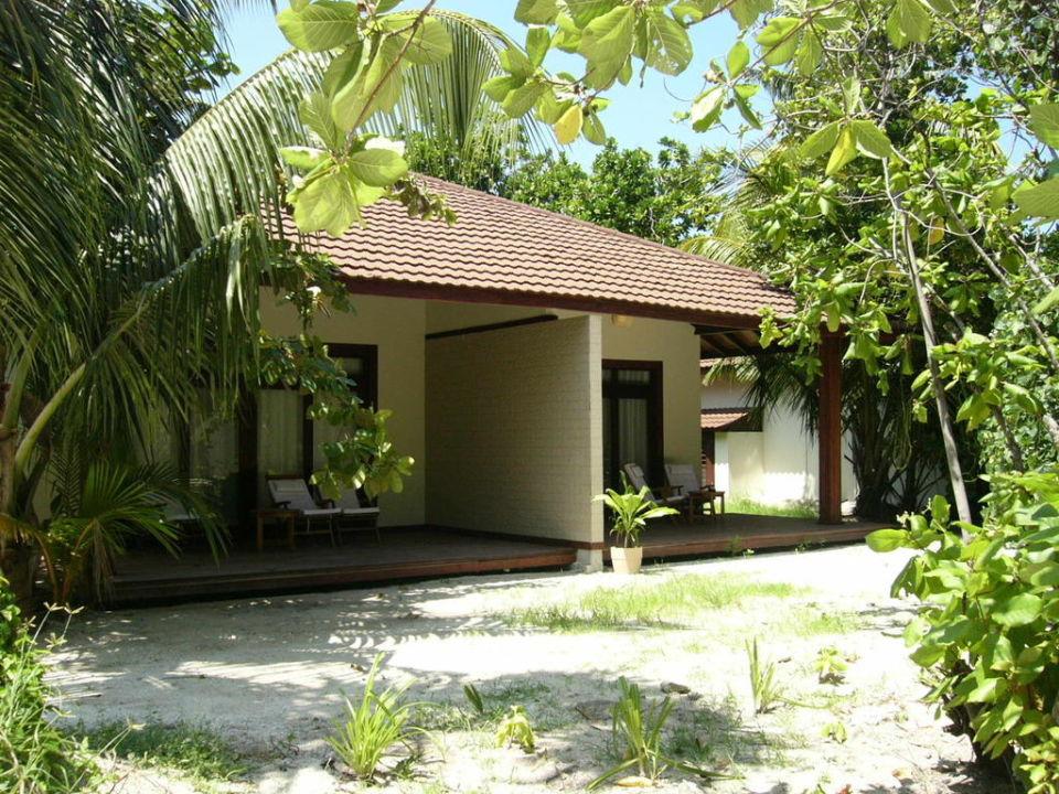aussenansicht gartenbungalow robinson club maldives. Black Bedroom Furniture Sets. Home Design Ideas