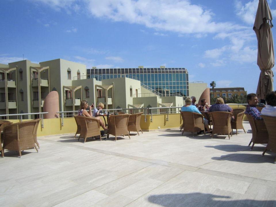 Ausblick von der Akdeniz Bar Blue Waters Club