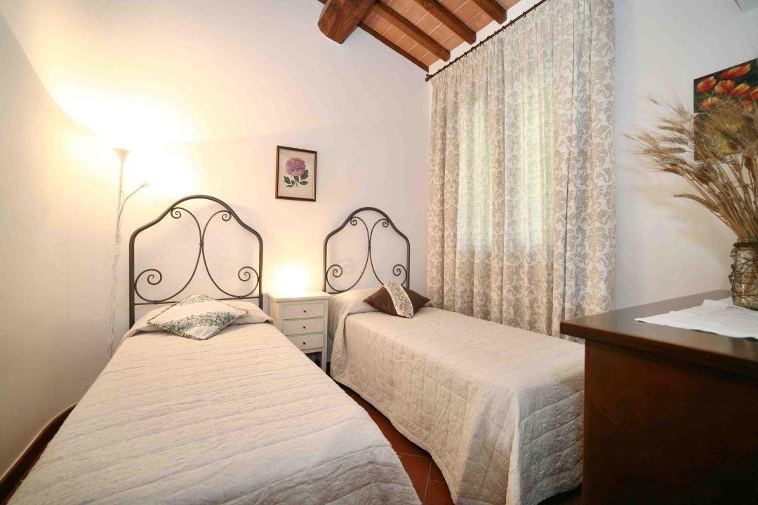 Dante apartment - second bedroom La Compagnia del Chianti