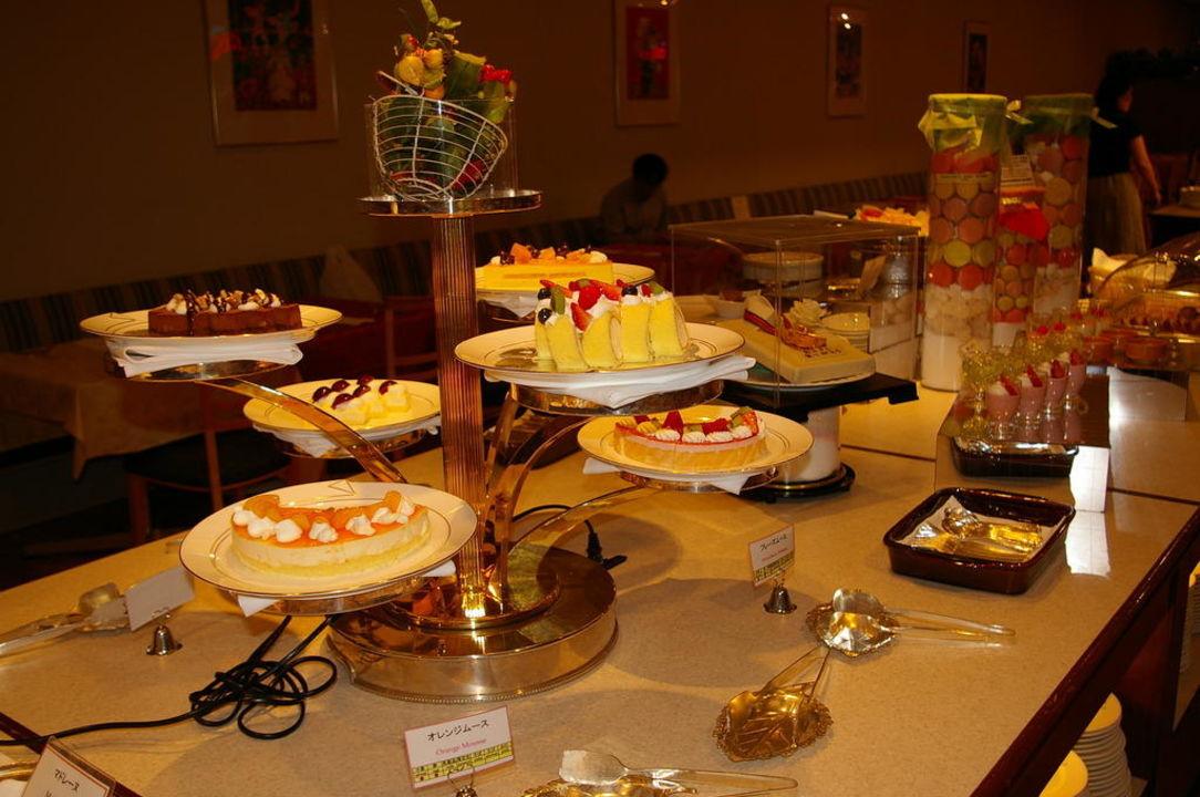 Auch Abends Lecker Kuchen Essen Hotel Grand Prince New Takanawa