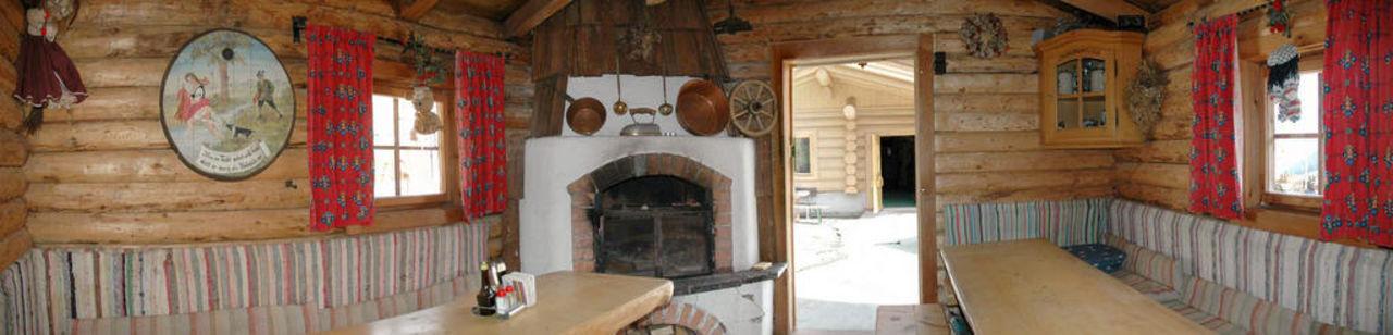 Grillhütte für Sommer und Winter für.ca.15 Personen Berghotel Jaga-Alm