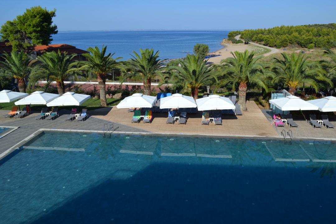 Ausblick Hotel Blue Dolphin