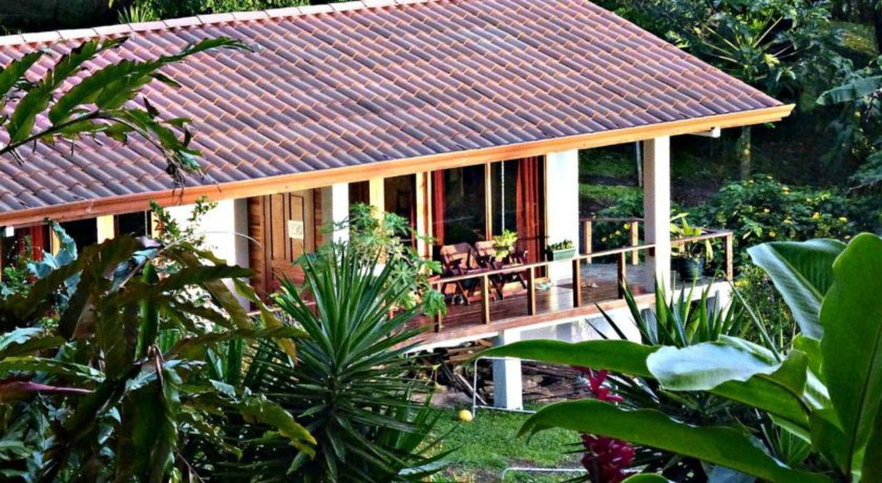 Außenansicht Ceiba Tree Lodge