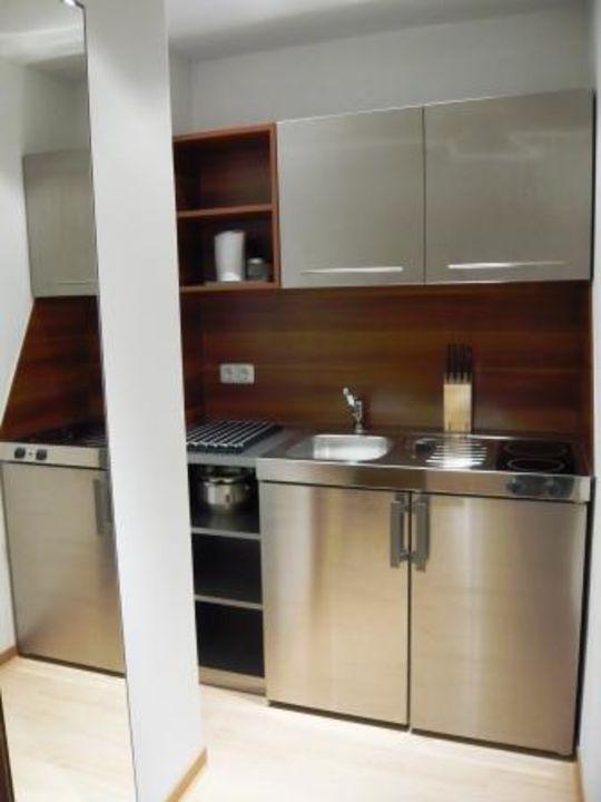 Pantry-Küche Apartment/Studio Boutique-Hotel & Apartments am Essigmanngut