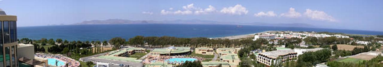 Panoramablick von Zimmer 715 Kipriotis Panorama Hotel & Suites