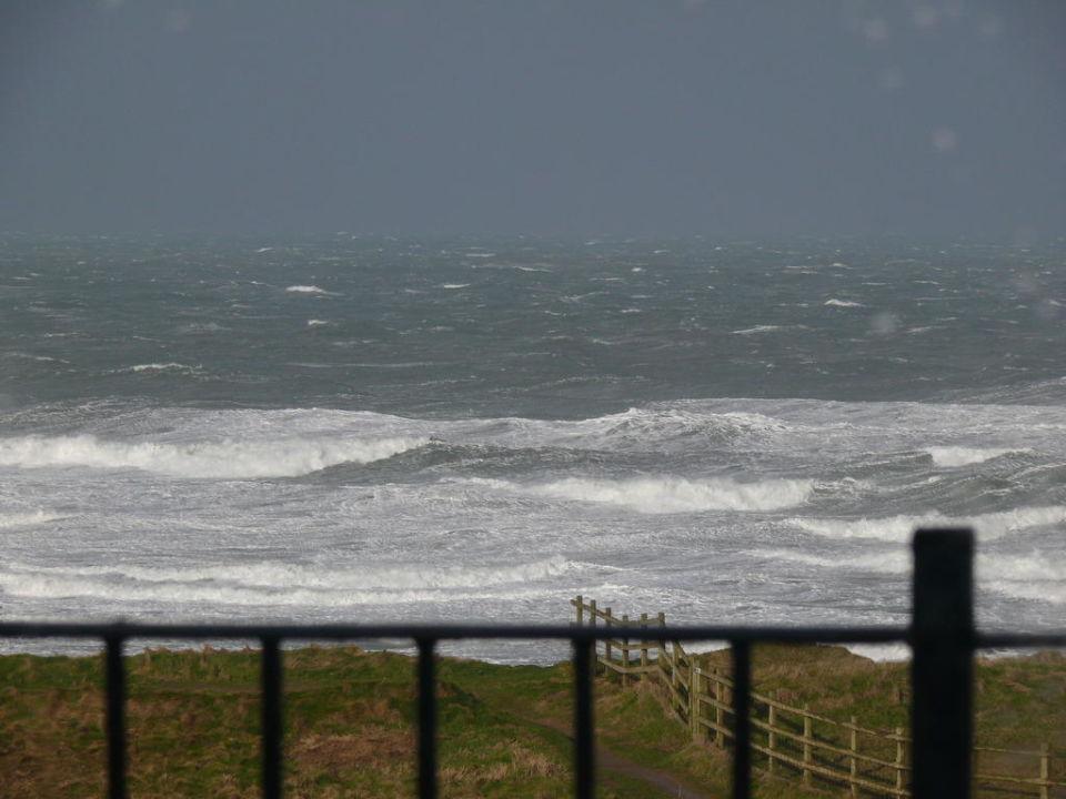 Sturm in der Bay Hotel Bay View Inn