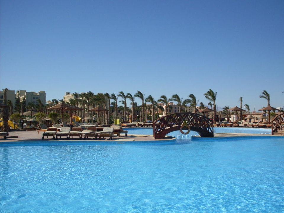 Buiten zwembad Hawaii Le Jardin Aqua Park Resort