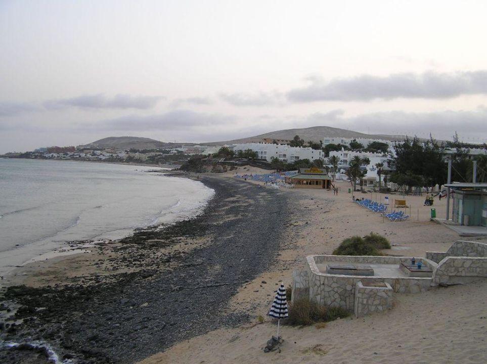 Strandaufnahme Hotel Cava Dòro
