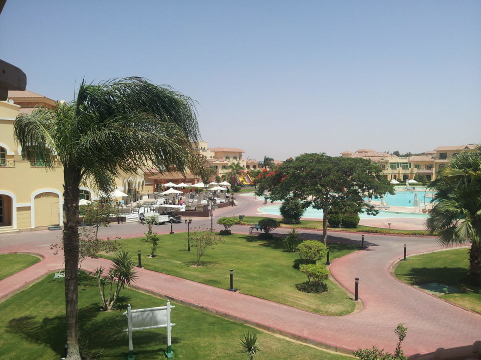 Very nice view Mövenpick Hotel Cairo Media City