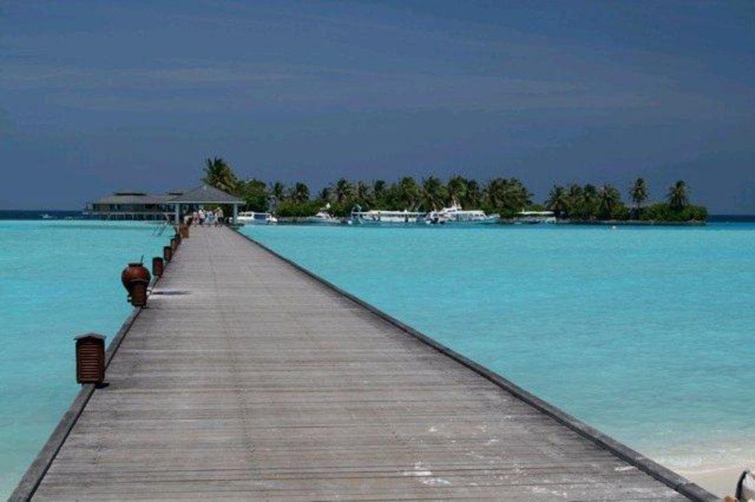 Blick zum Italiener Sun Island  Resort & Spa