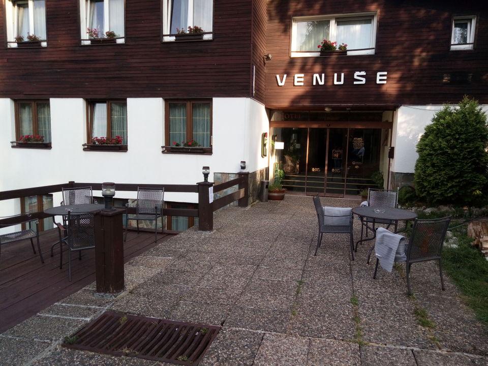 Außenansicht Hotel Venuše