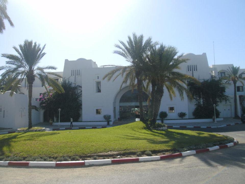 Eingang außen Hotel Seabel Aladin Djerba