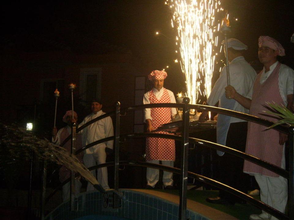 Die Köche sorgten für Unterhaltung! Hotel Club Dizalya