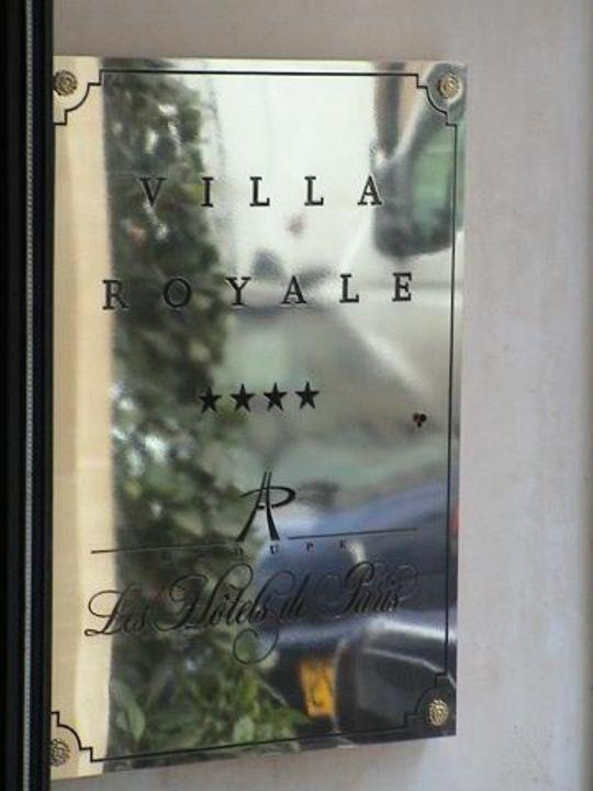 Hotel Villa Royal Paris Villa Royale