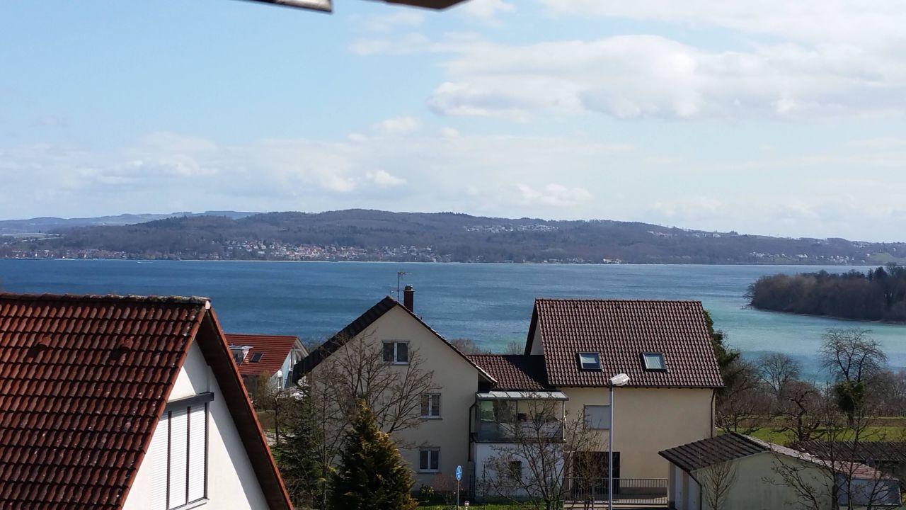 Blick aus unserem Zimmer Hotel Volapük