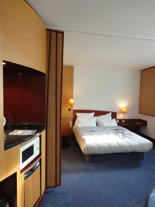 Unser Zimmer Accor Suite Novotel Hannover City
