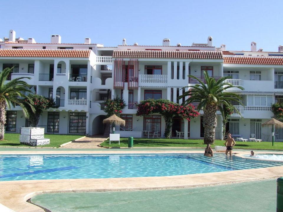 Widok na hotel Hotel Playa Romana