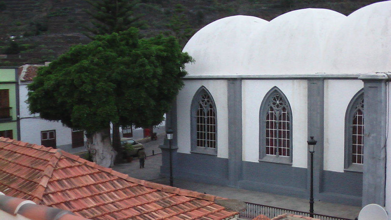 Kirche von Agulo Casa Rural Los Helechos Apartments