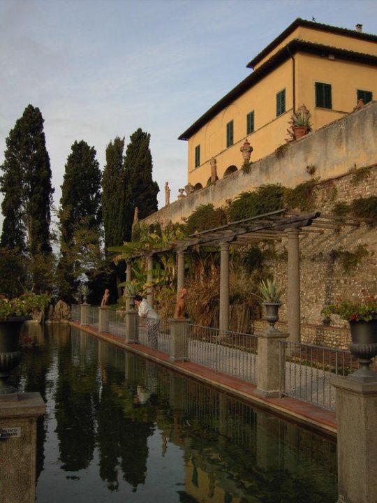 Außenansicht Villa Spoiano
