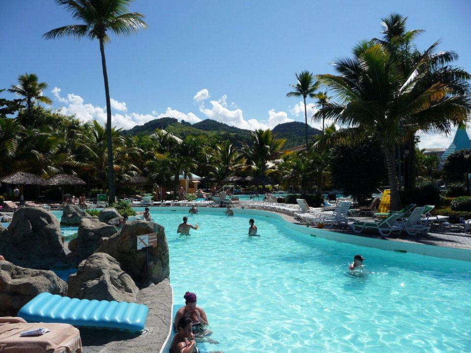 Ausblick Pool Hotel Puerto Plata