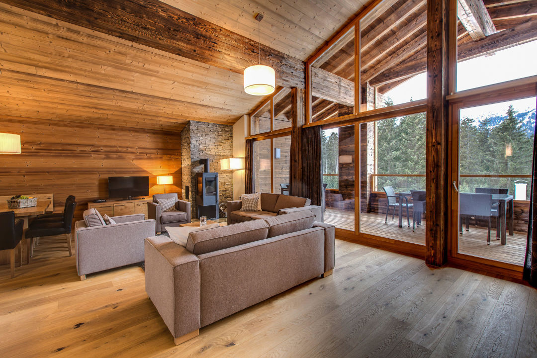 Quot Wohnzimmer Penthouse Quot Priv 224 Alpine Lodge Lenzerheide