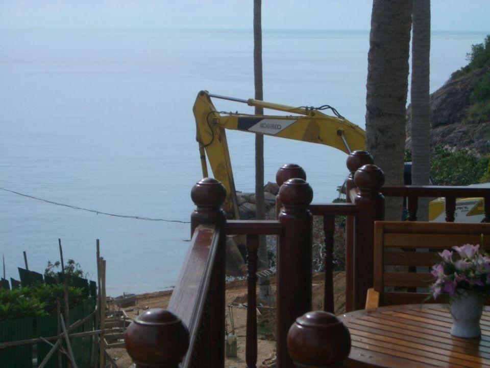 Das Hotel ist noch eine Baustelle. Q Signature Samui Beach Resort