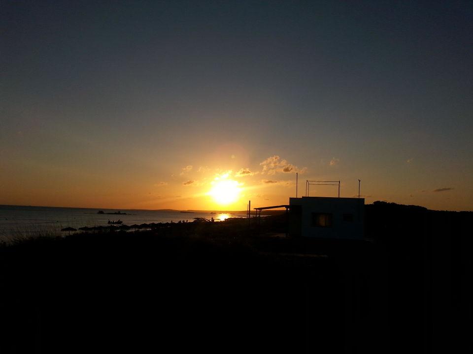 "Sonnenuntergang im ""Sunset"" Apartments Mar Blau"