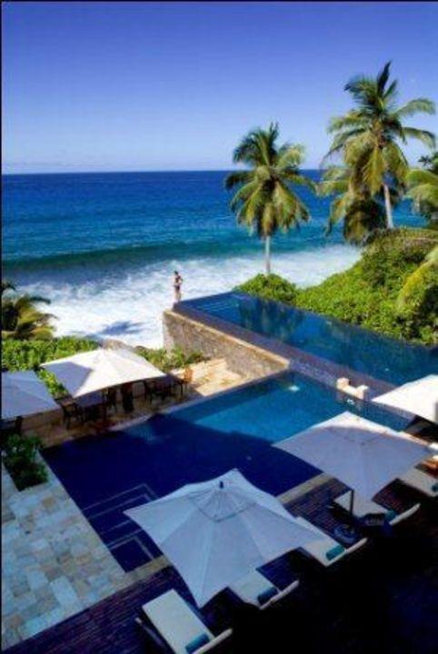 Pool Banyan Tree Seychelles