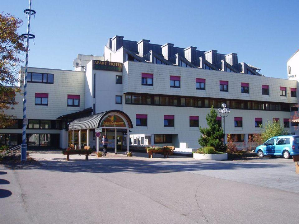 Der Eingangsbereich Predigtstuhl Resort