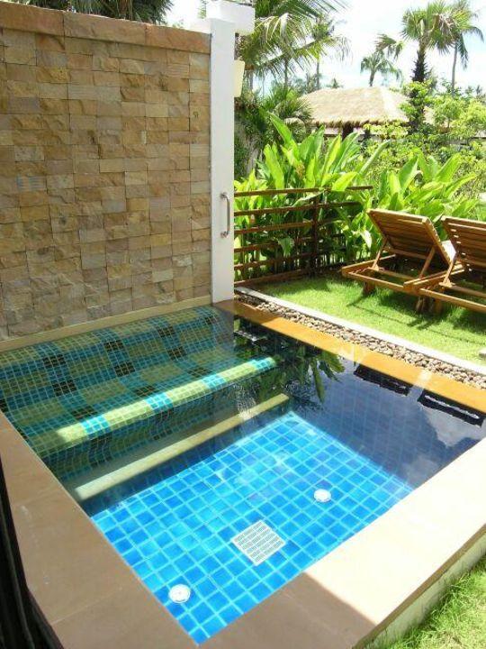 Privatpool auf der Terrasse Bandara Resort & Spa Samui