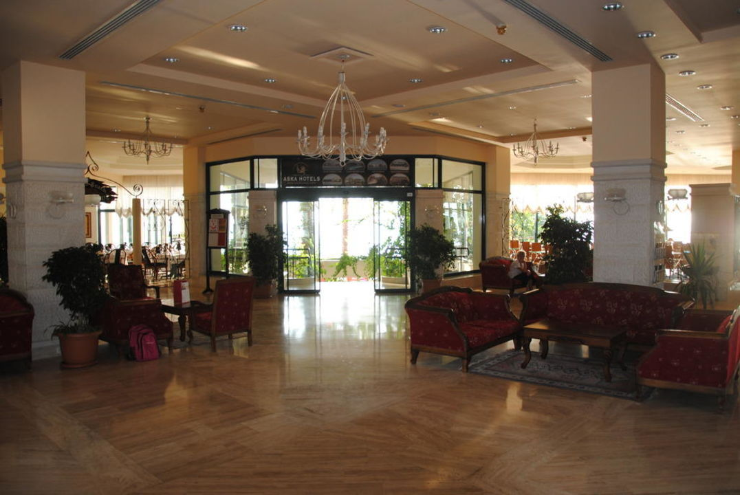 Eingangsbereich Aska Hotel Just in Beach