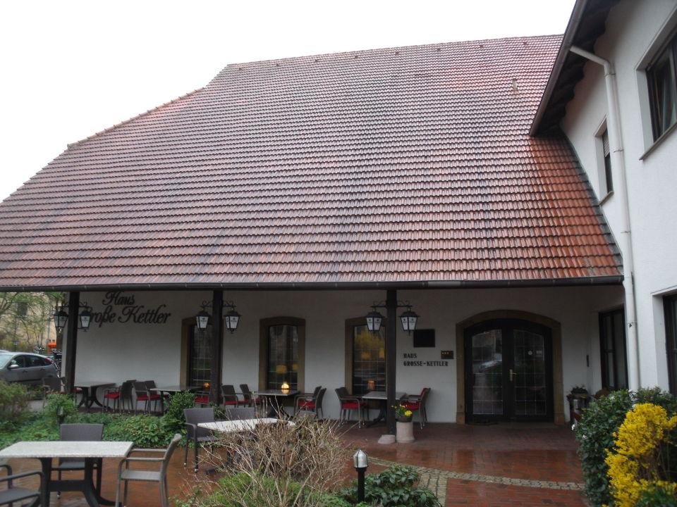 """Hoteleingang"" Haus Große Kettler Bad Laer"