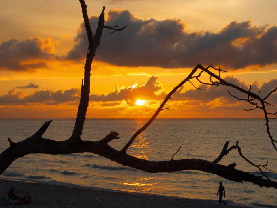Sonnenuntergang Hotel Gran Caribe Club Kawama