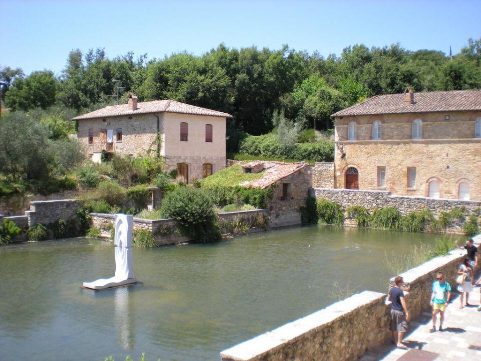 Ausblick auf die Therme Albergo Le Terme