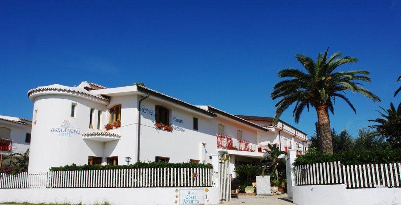 Entrata Hotel Costa Azzura