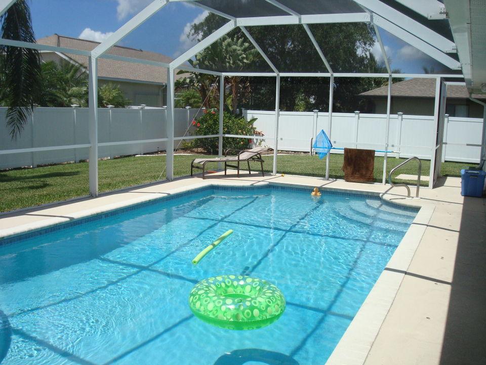 Pool mit Screen Villa Palm Island