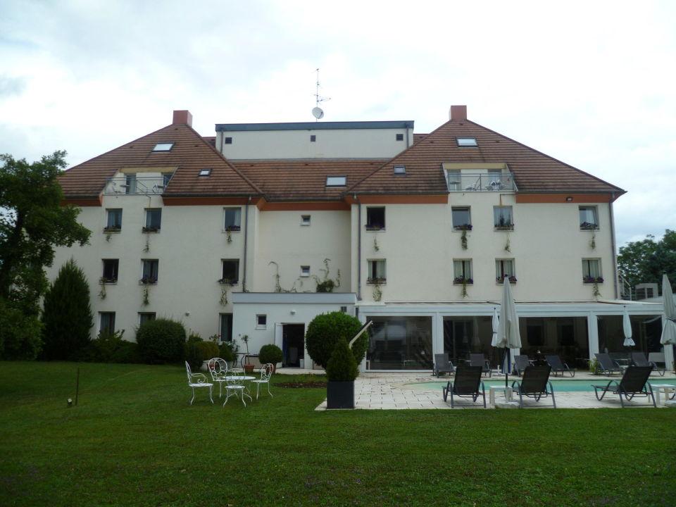 Von Vorne Sieht Es Genauso Aus Hotel Les Jardins D