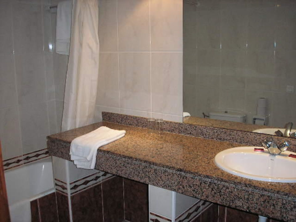 Badezimmer Hotel Mediodia